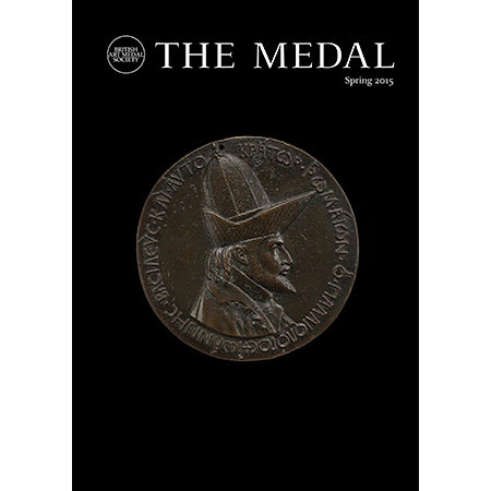 The Medal (issue 66, Spring 2015) front cover