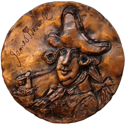 James Boswell – Obverse