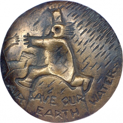 Save Our Earth Air Water – Obverse