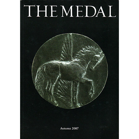 The Medal (issue 51, Autumn 2007) front cover
